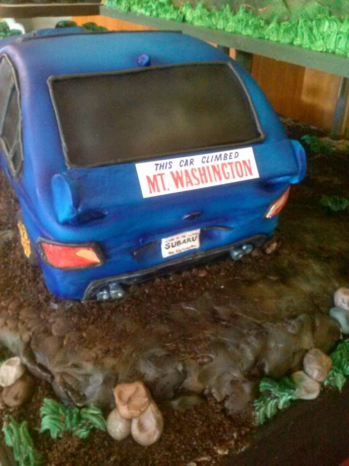 Subaru Mt. Washington Cake