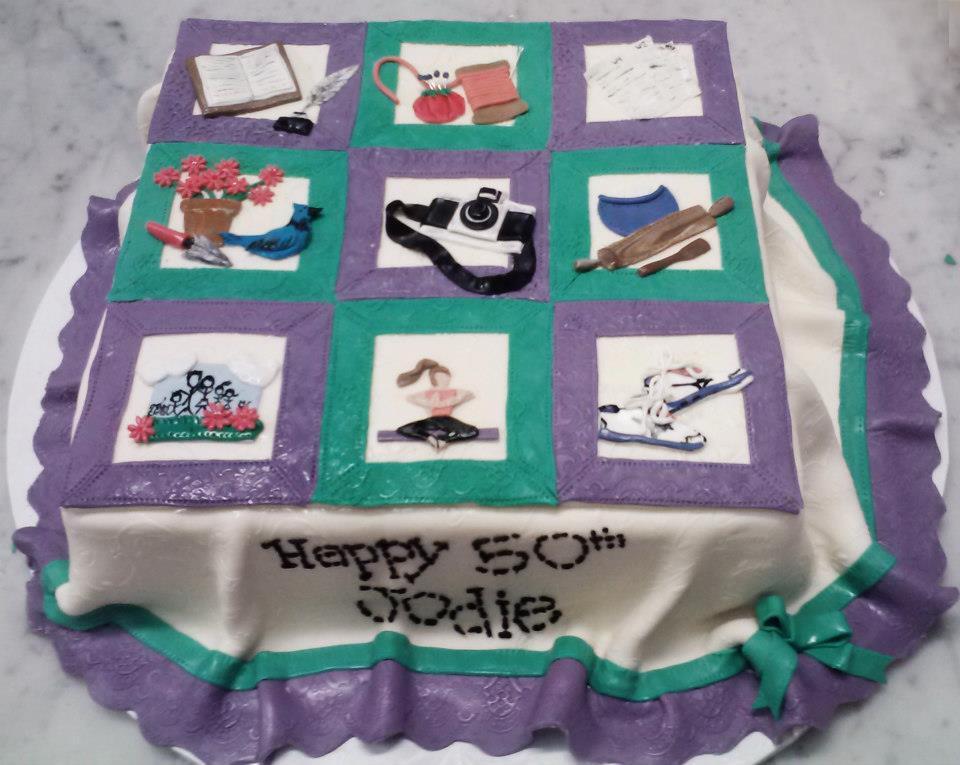Quilt Cake