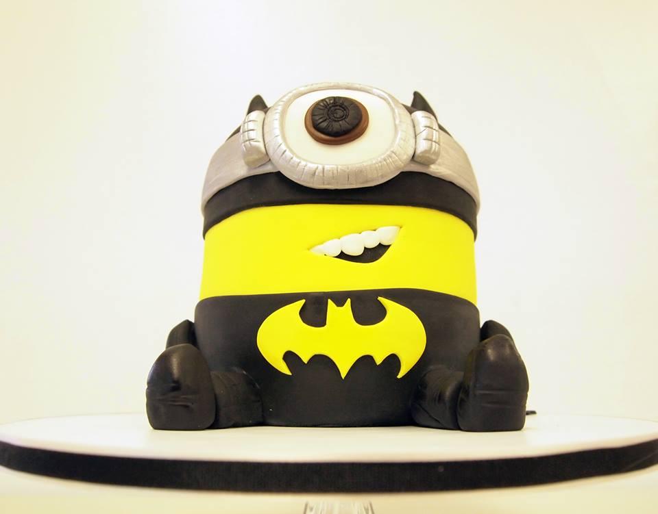 Batman Minion Grooms Cake