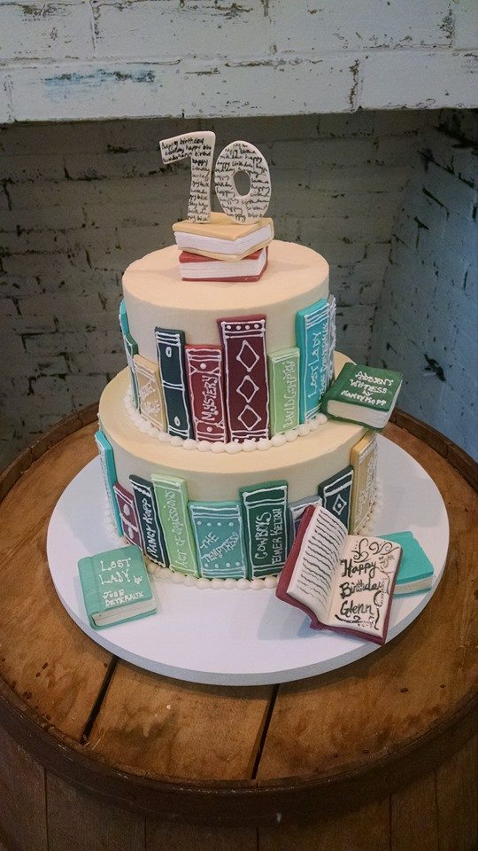Book Themed Cake