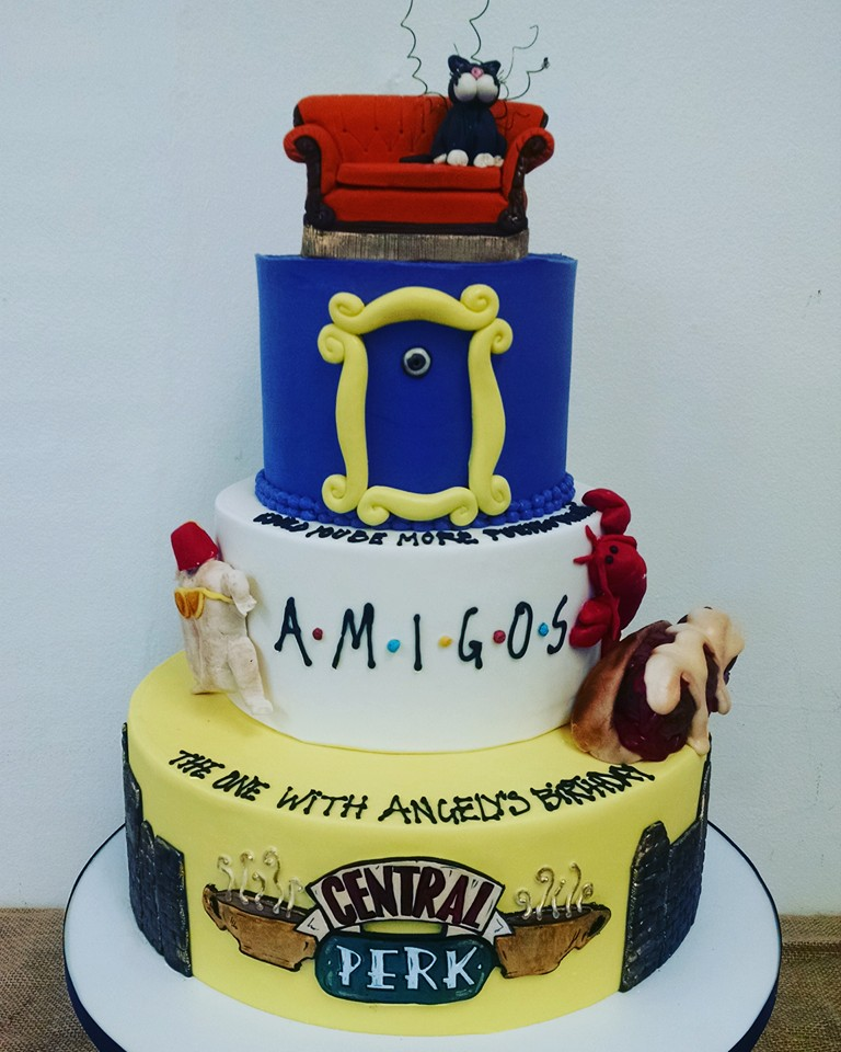 F.R.I.E.N.D.S. Themed Cake