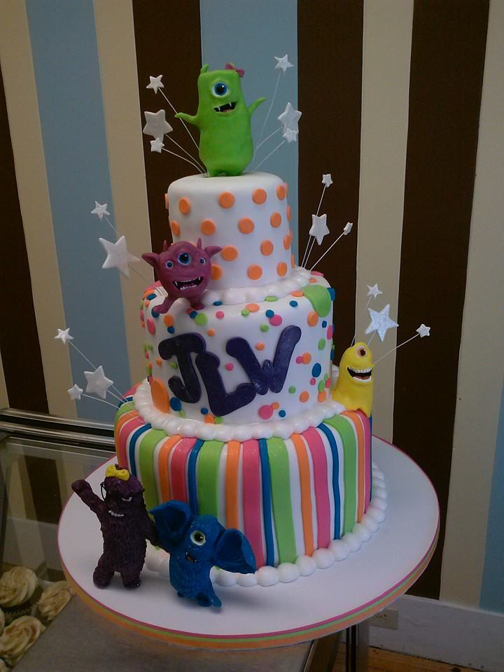 Little Monsters Cake