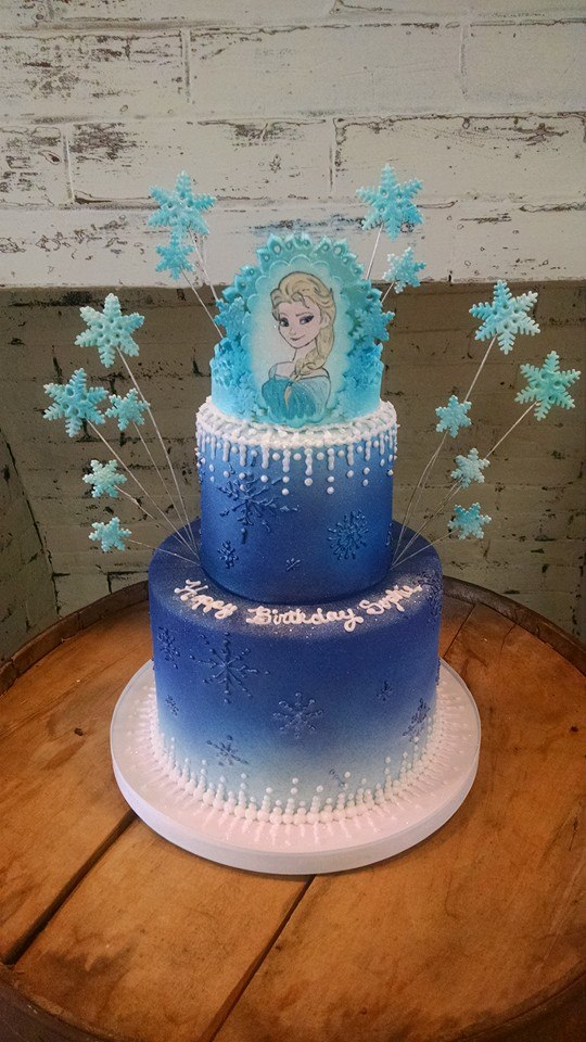 Frozen Themed Cake