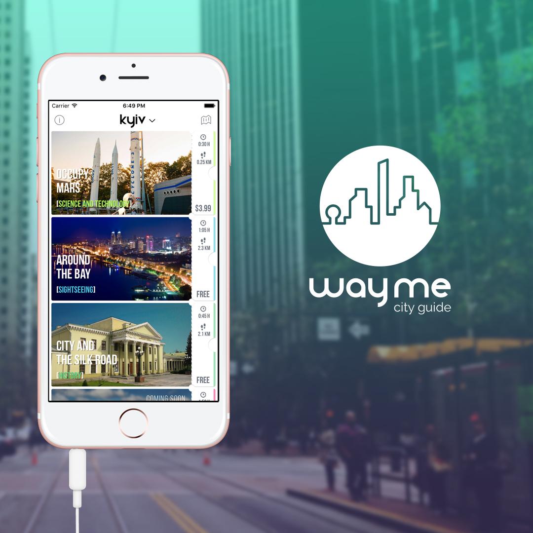 wayme - city virtual guide