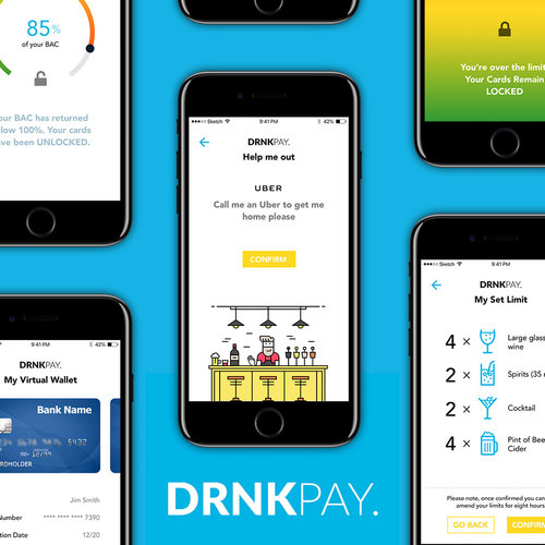 DRNKPay (IoT Biosensor for Blood Alcohol Content)