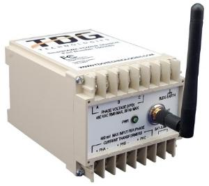 SmartHAWK Power Sensor monitors key power and electrical metrics on motors and related equipment.