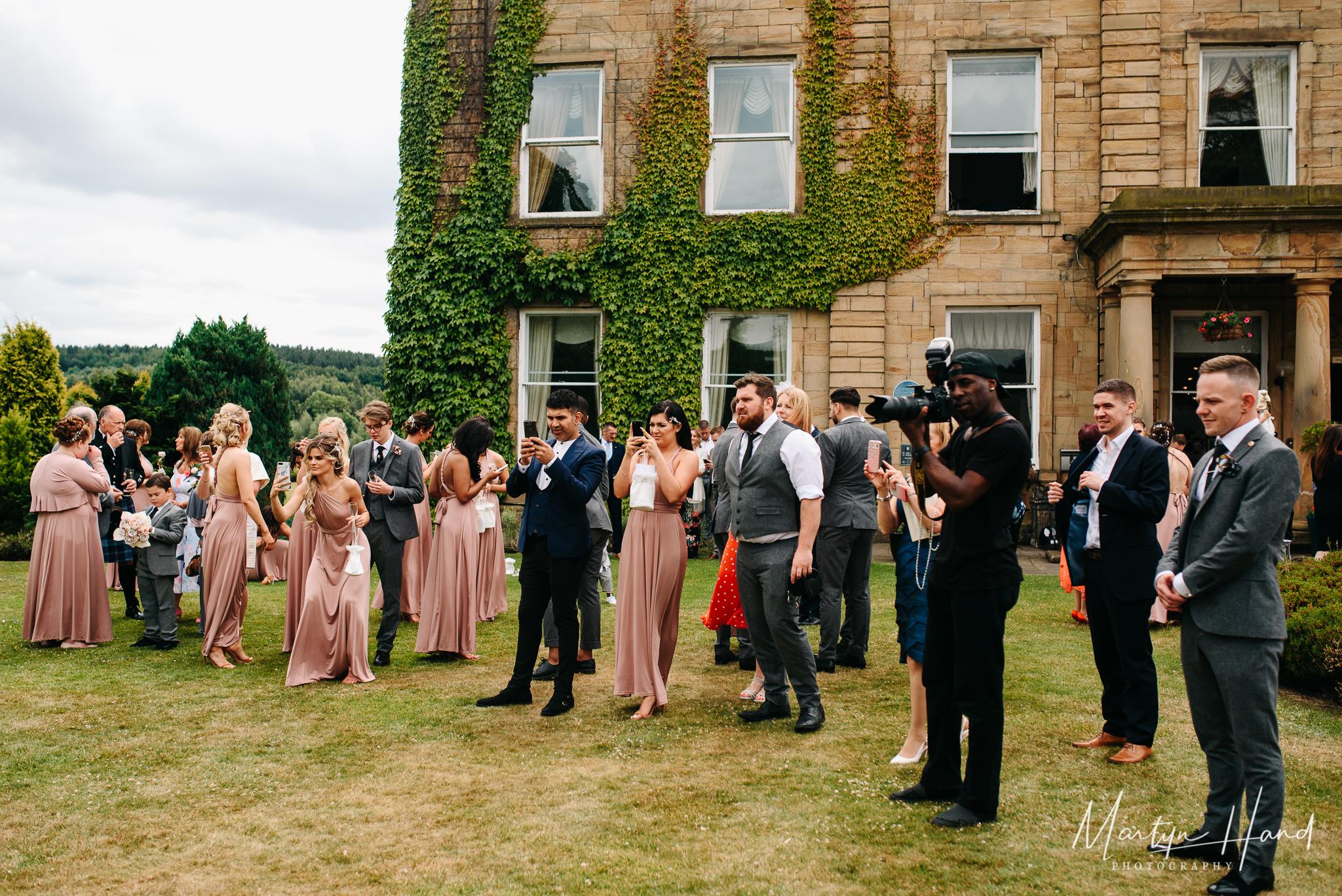 Waterton Park Hotel Wedding Photographer Martyn Hand Photography