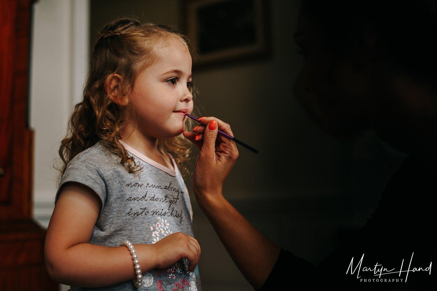 Flower Girl Yorkshire Wedding Photographer Denton Hall