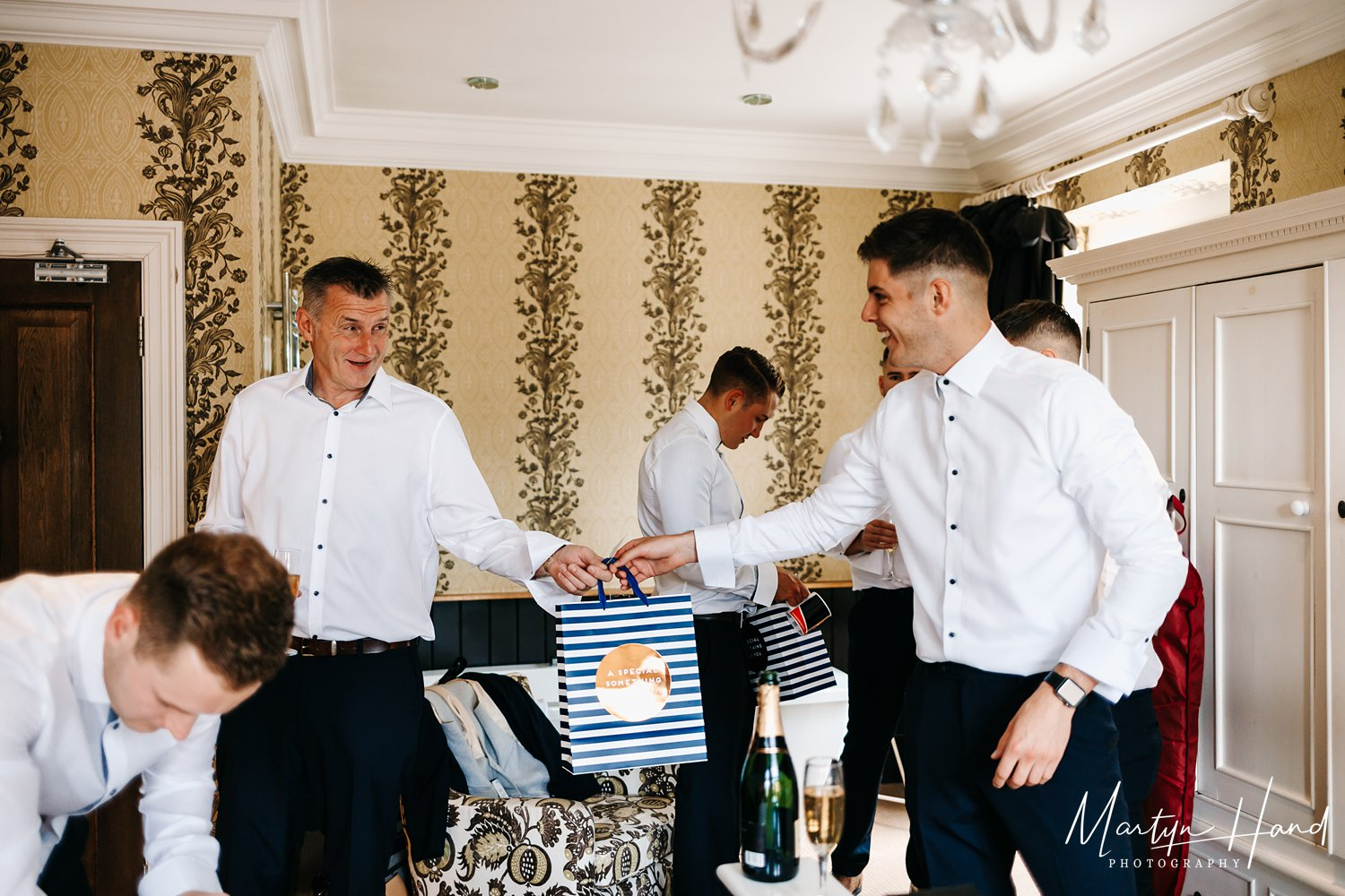 Groom Prep Leeds Wedding