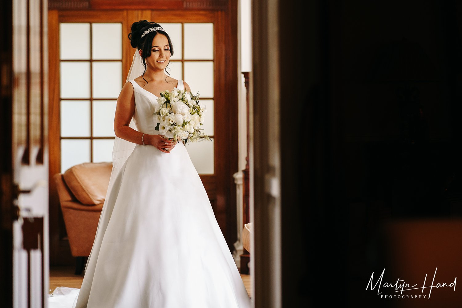 Bridal Portrait denton hall leeds wedding