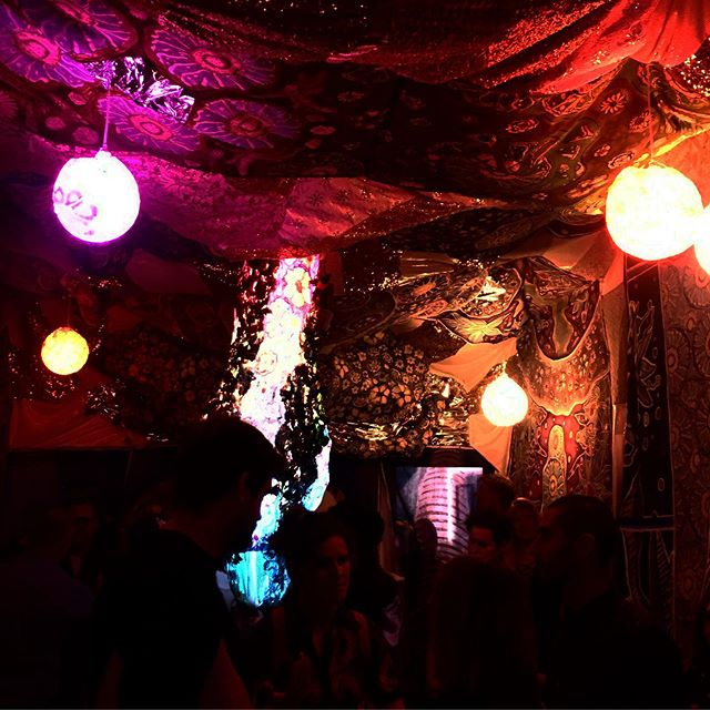 Some pictures of @laurieshapiroart 's art at her immersive art installation in West Hollywood.