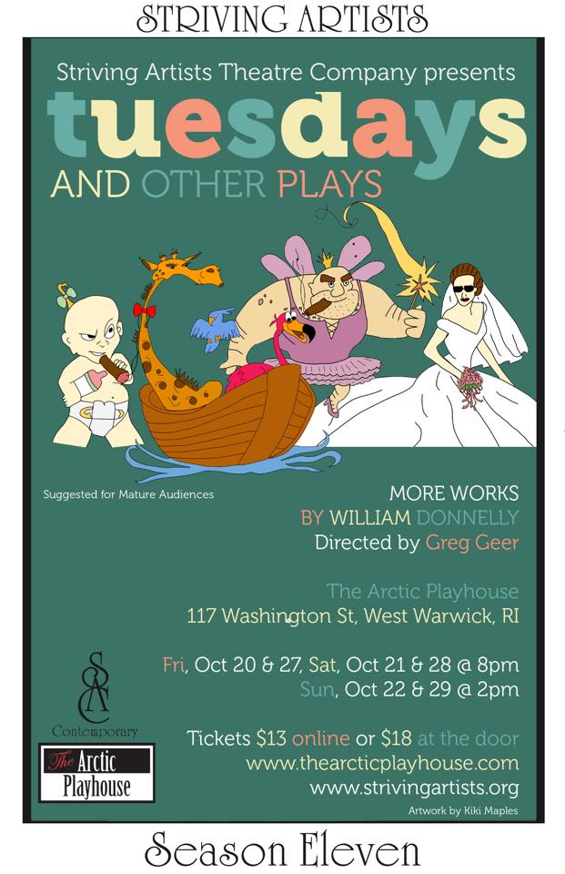 Tuesdays and Other Plays (2017)