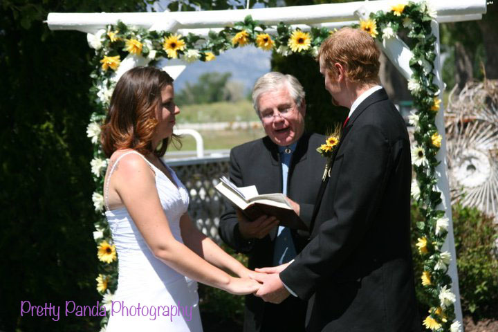 The Swanay-Watschke wedding was a perfect example of an intimate wedding in a beautiful location!