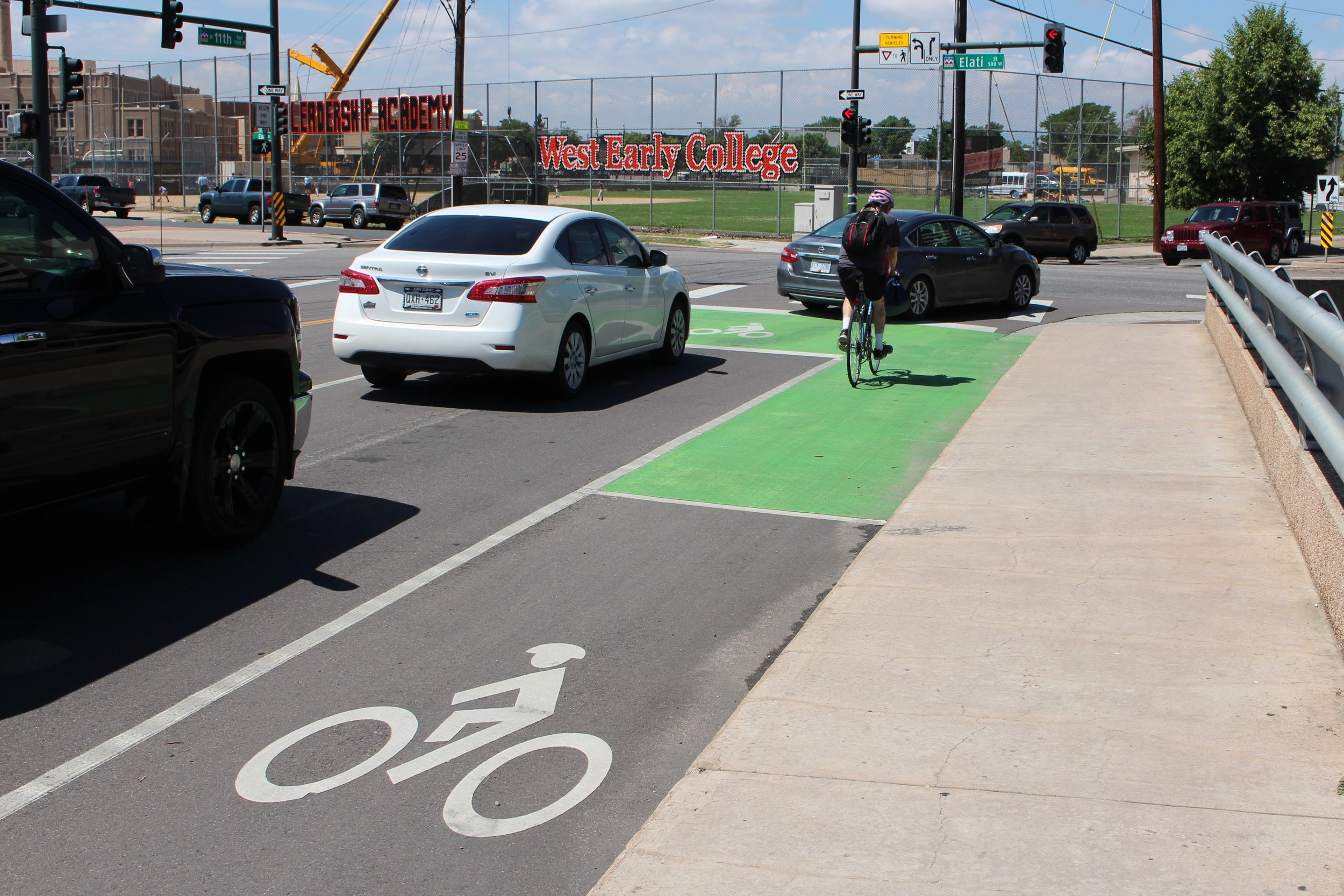 Bicyclist in green box area.jpg