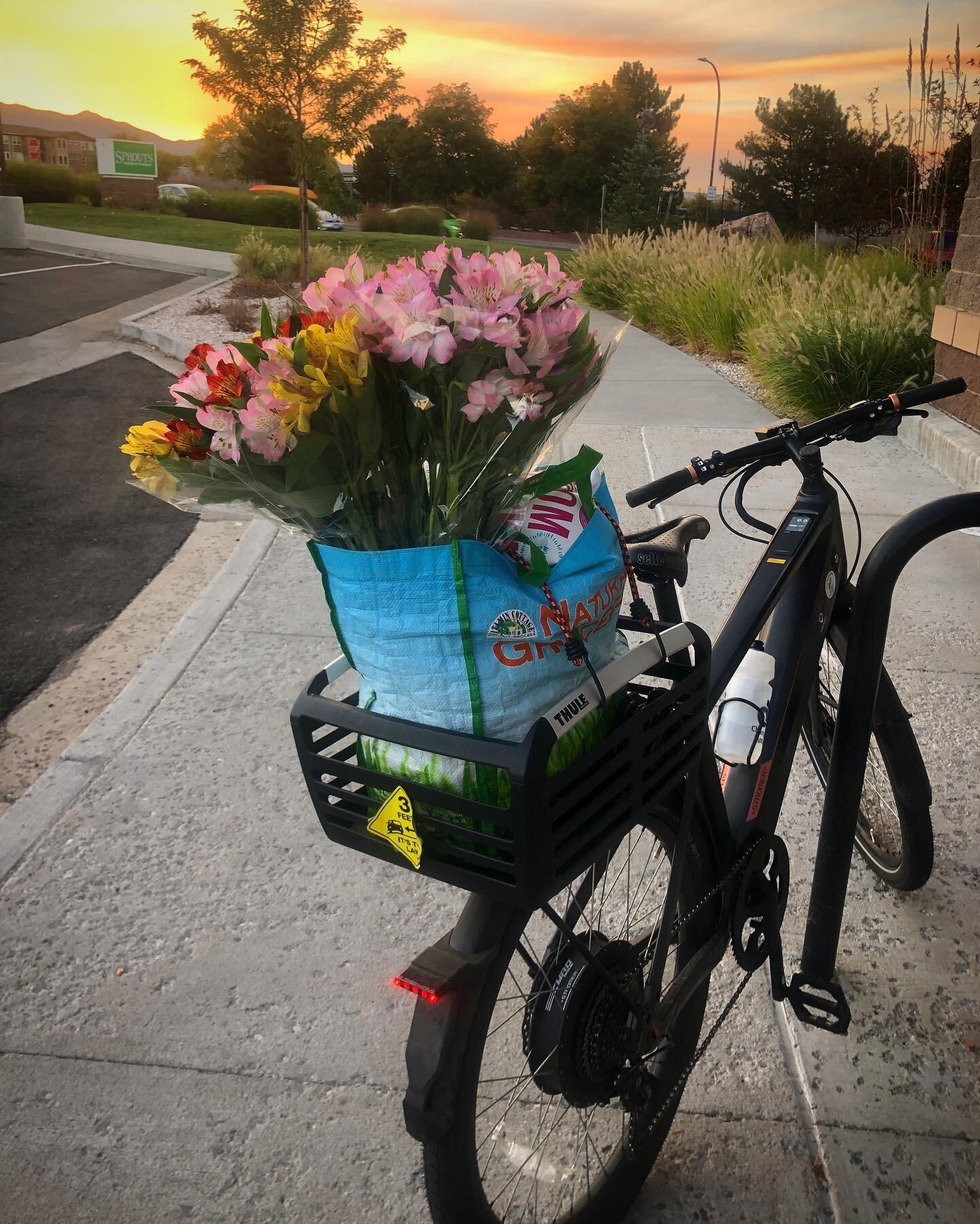 Bike —> ?? —> ?? *choose joy* . . . #ridemoredriveless #optoutside