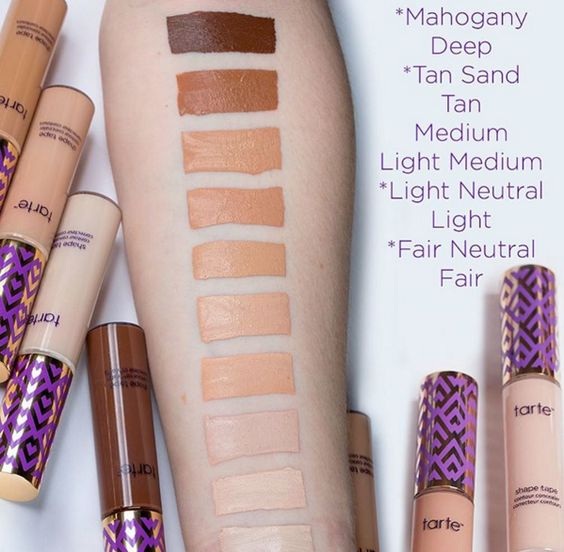 We love Tarte's Shape Tape concealer! It's high coverage and doesn't settle into our fine lines.