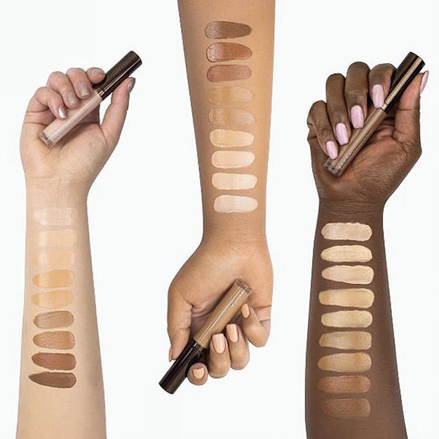 Becca's Aqua Luminous concealer is also one of our all time faves for being lightweight and hydrating!