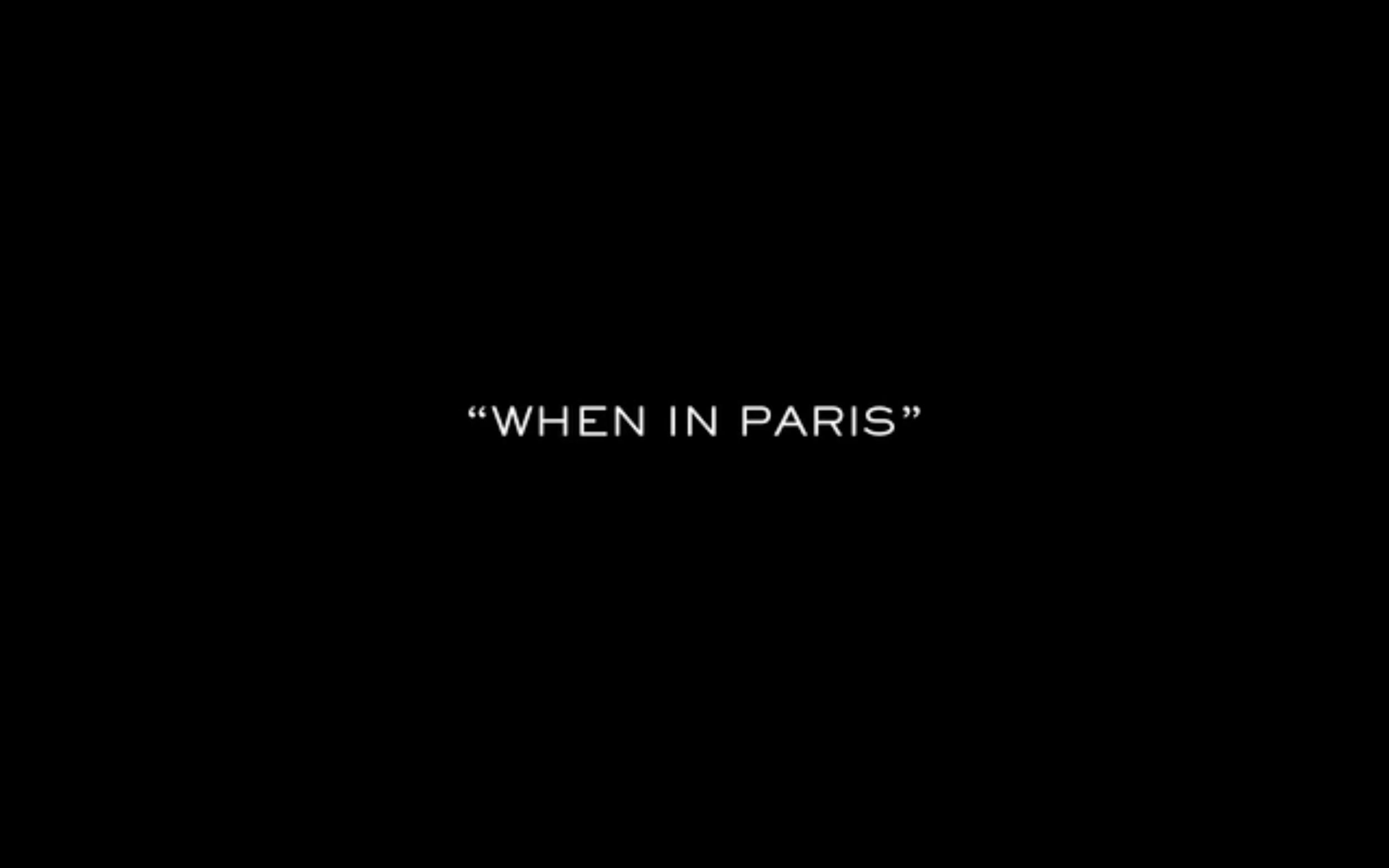 "AG Jeans ""When in Paris"""