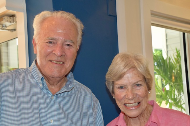 Chip Roach and Ginny Fleming, retired CFI Board Member
