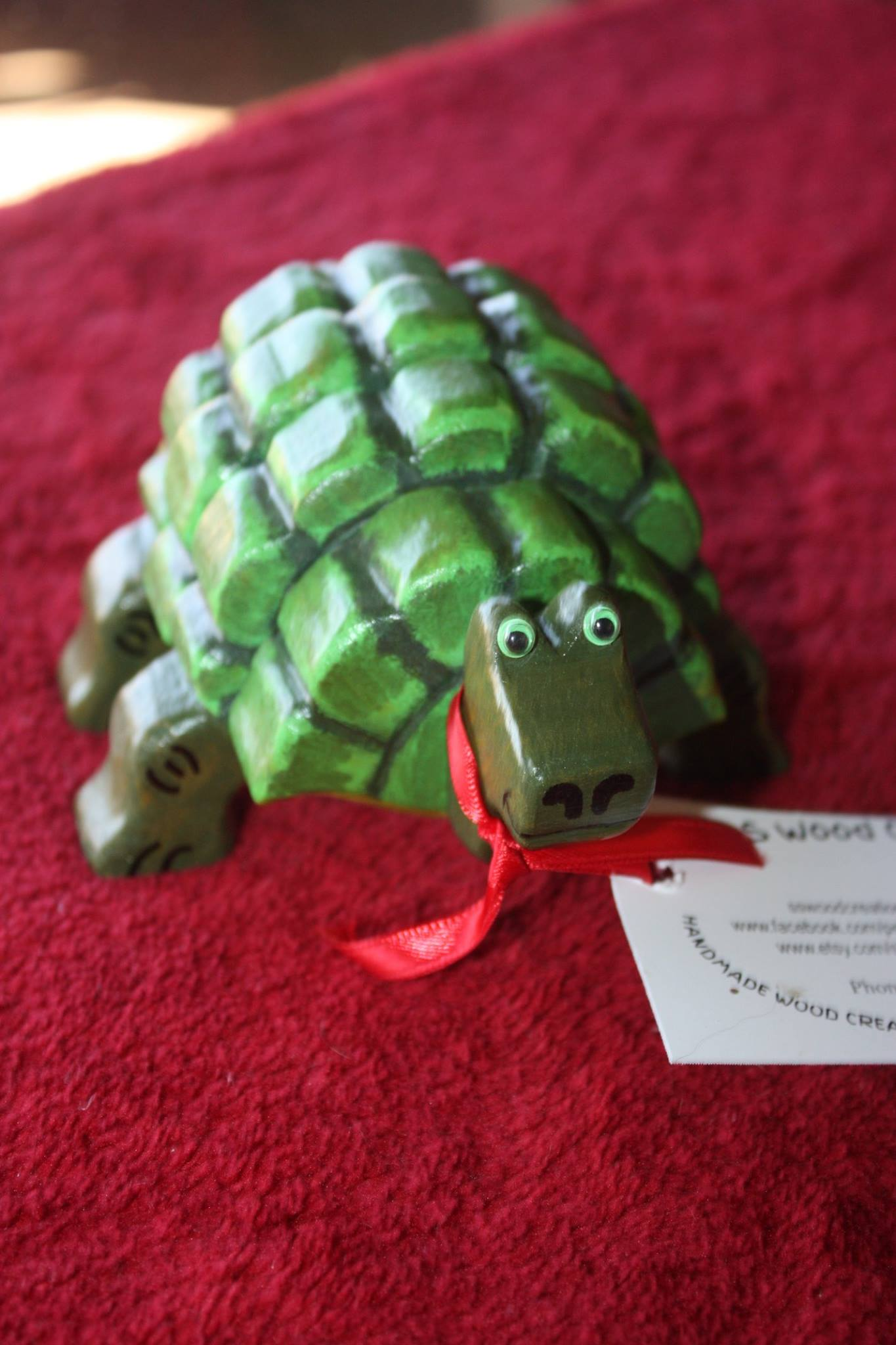 They can even make TURTLES! This guy is also available at the second hand shop located at the shelter.