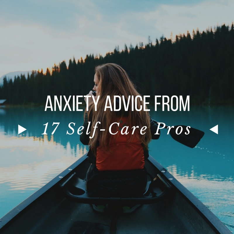 self care for anxiety