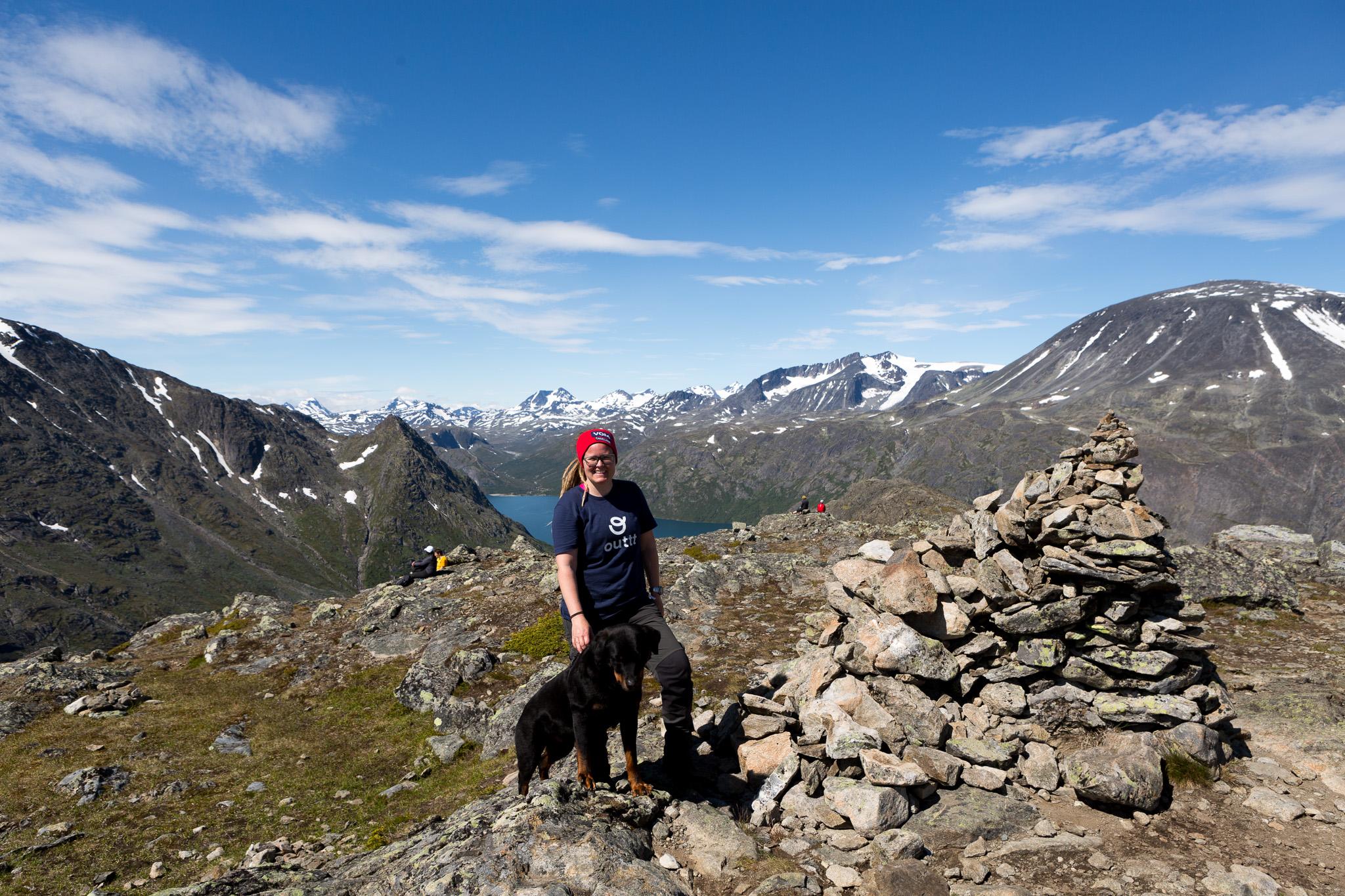 På toppen av Knudshø
