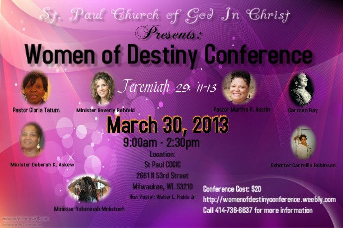 1st Annual Women's Conference