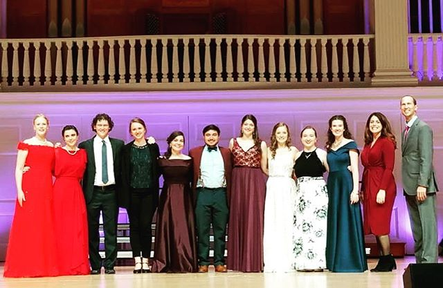 I had a wonderful time hearing these talented young singers in the Wheaton Concerto Competition as a judge! Thank you Carolyn Hart and the rest of the faculty for inviting me. Congratulations to all involved! #voice #opera #concert #wheatoncollege #voiceteacher #coach