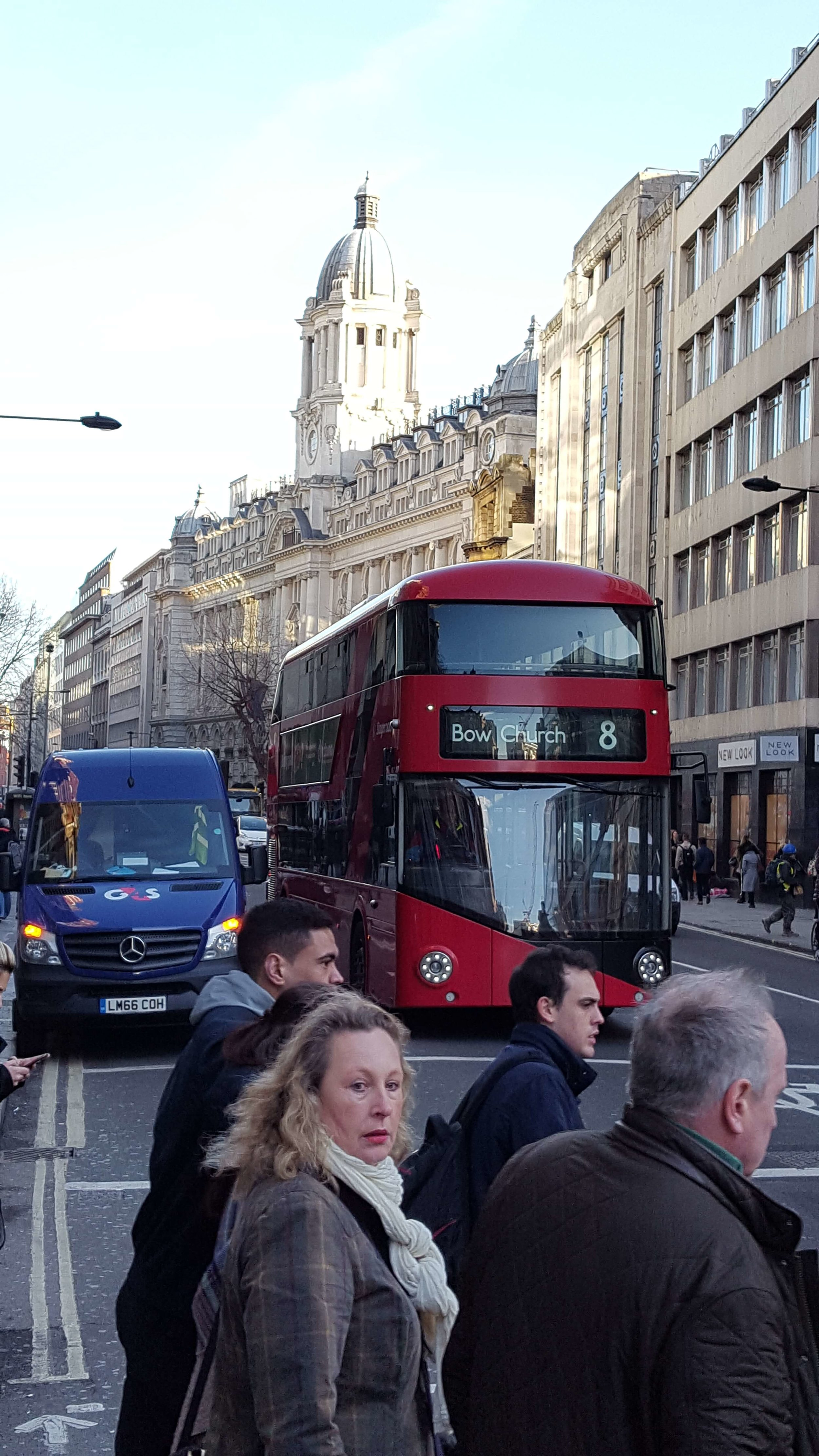 This sums London up for me, finely dressed urbanities with a double-decker bus rolling down the street, a mix of modern and historical architecture in the background. One of my favorite hotels, the Rosewood, which has excellent cocktails and jazz, lies in the background. Hopefully we'll have time for a cuppa tea or a neat cocktail.