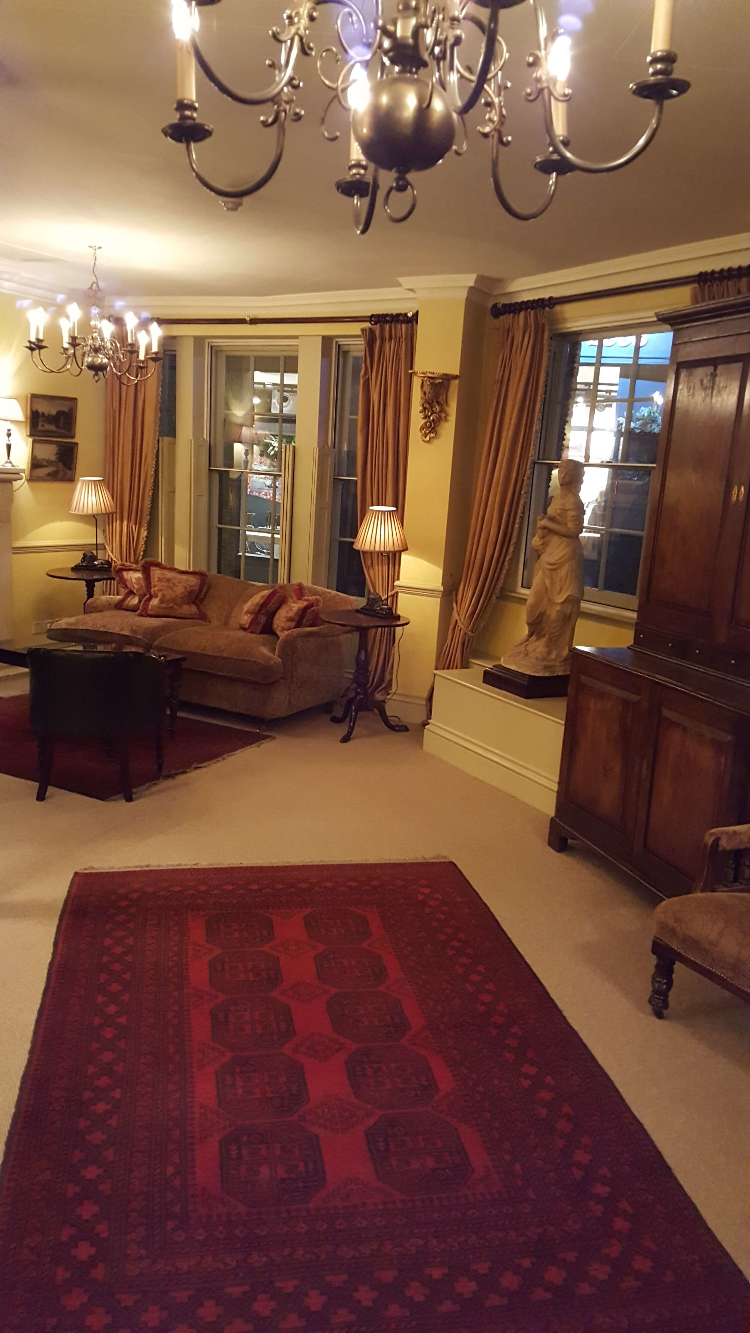 Our own private parlor adjacent to the board room where we can share stories with one another over a proper cup of Earl Grey tea.