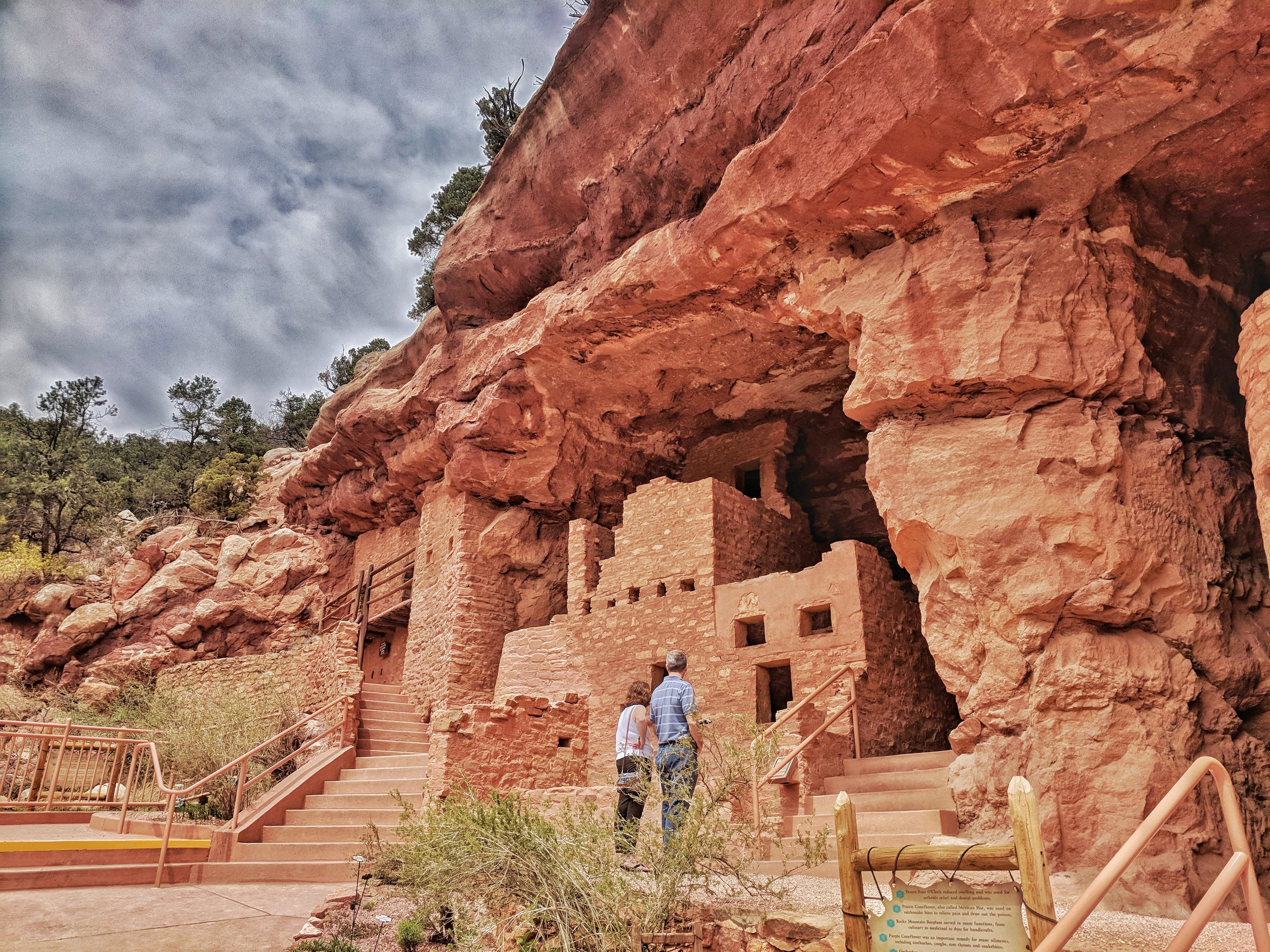 I did manage to get out of bed on one of the last days and check out some awesome ancient cliff-dwellings in town.