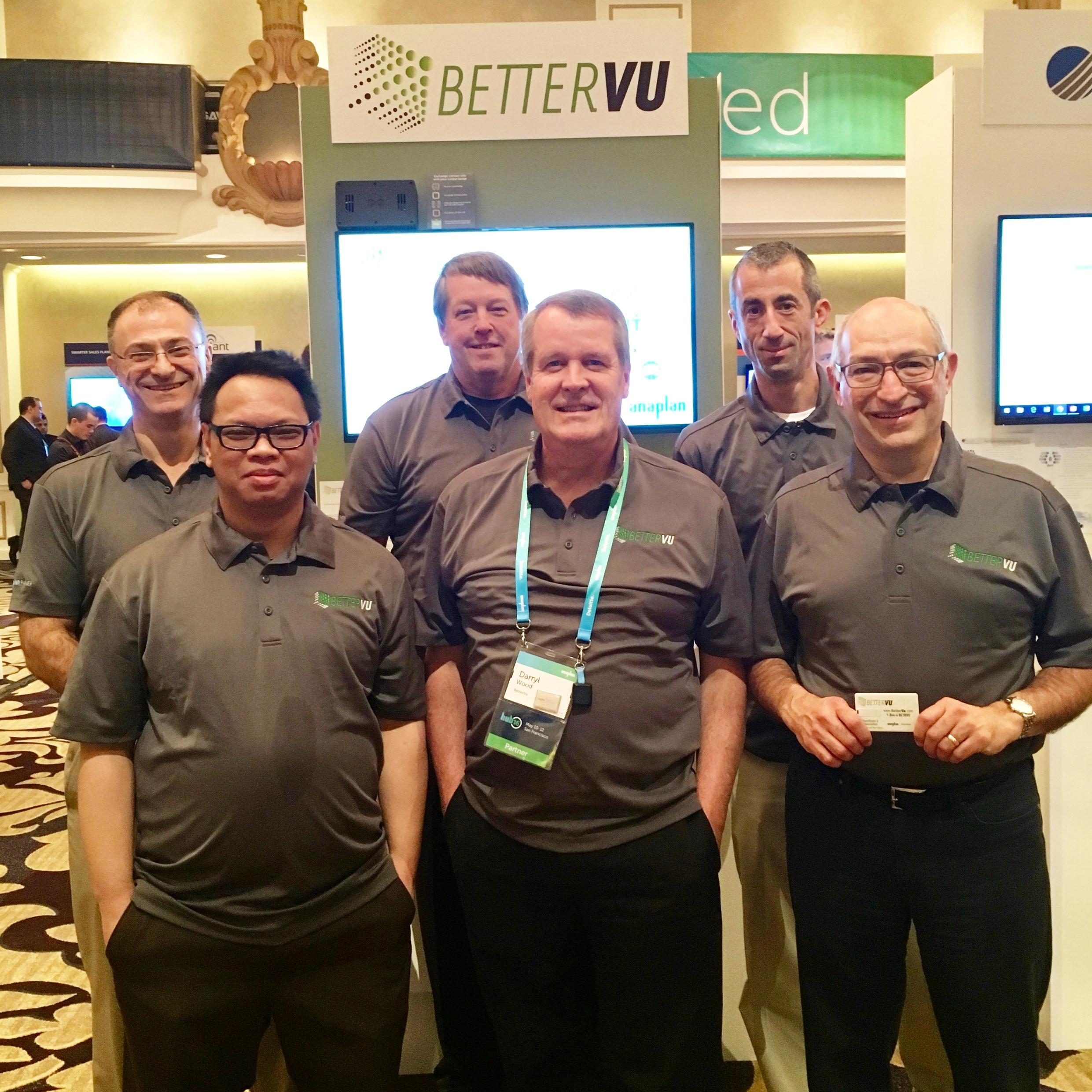 Members of Team BetterVu @ Anaplan Hub16