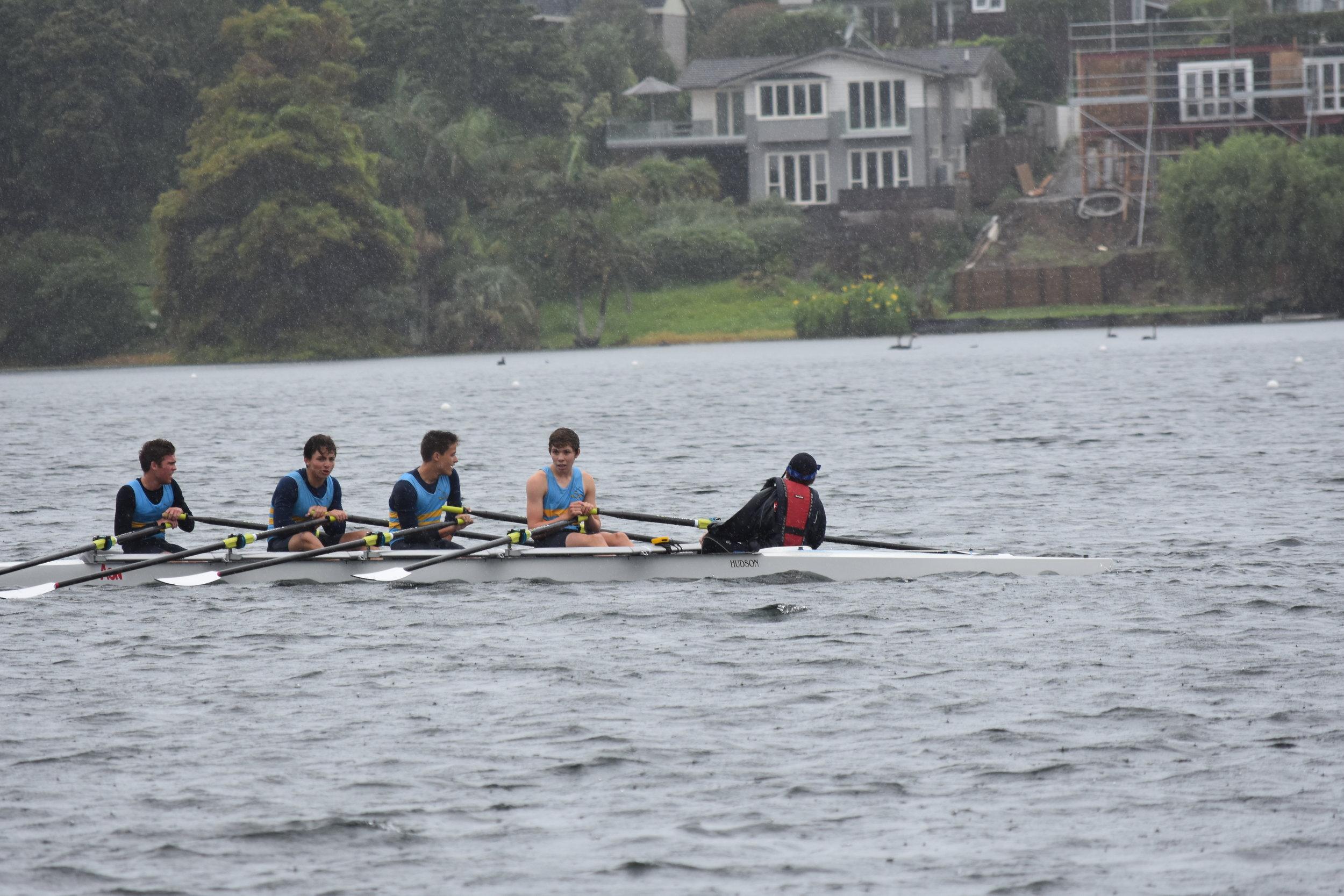 BU15 X+ 1st! Anthony, Callum, Ethan and Blake