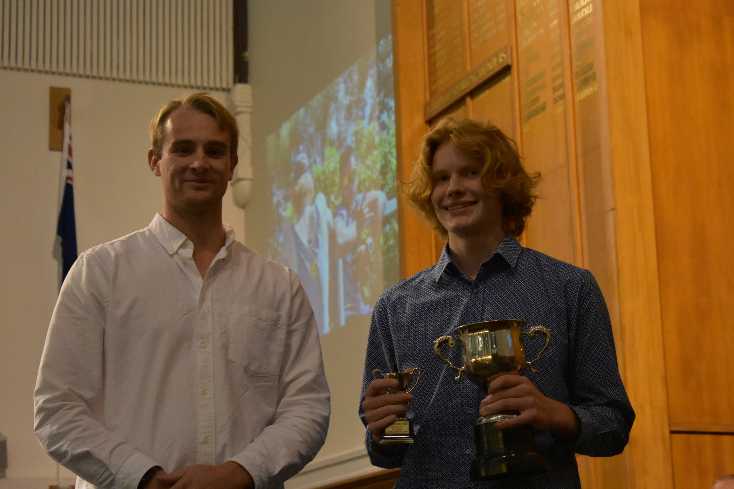 Jesse - Best Contribution to Boys Rowing 2018
