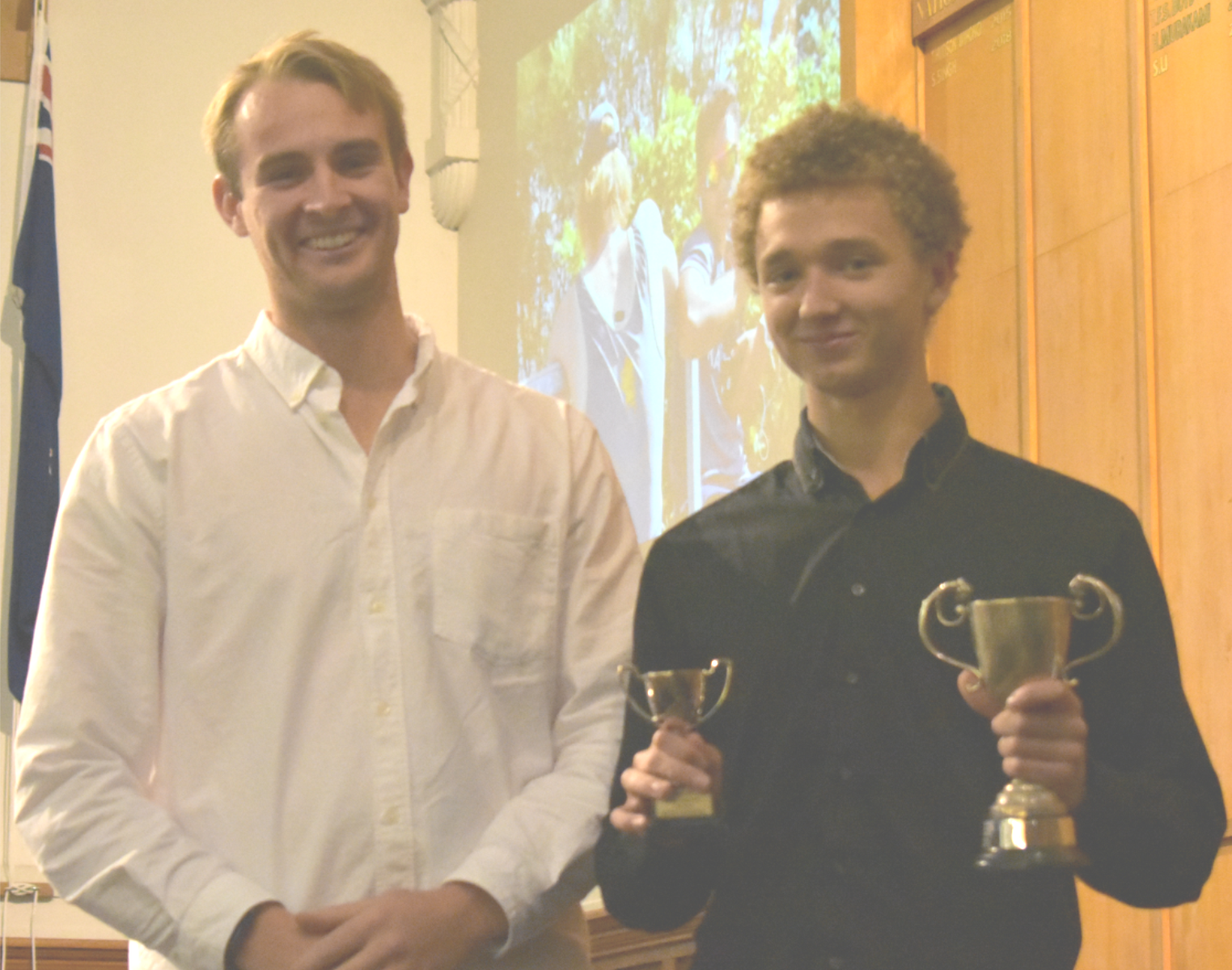 Anton - Most Improved Oarsman 2018