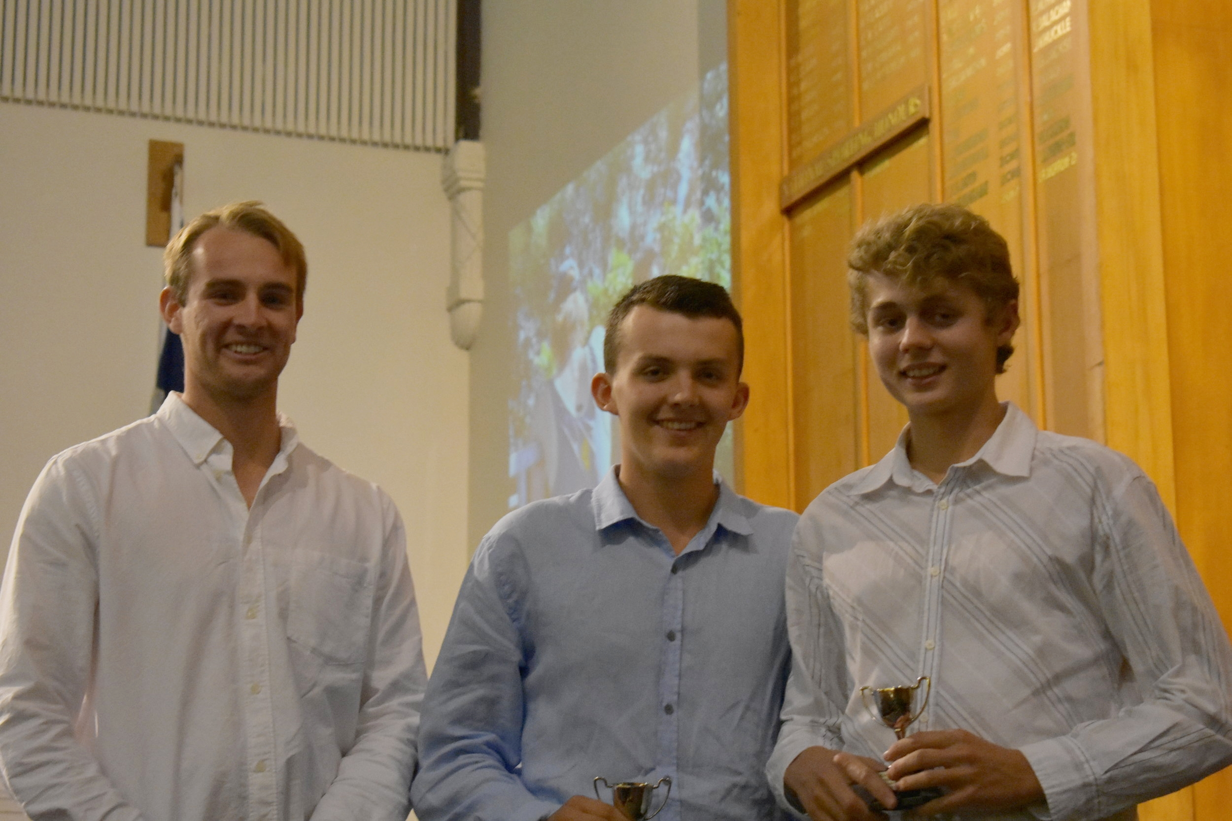 Lewis and Marcus BU17 Best Contribution and Most Improved 2018