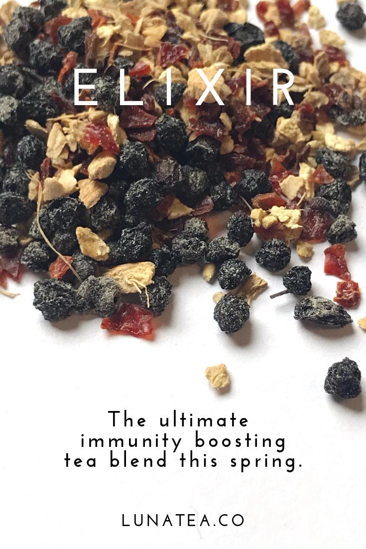 Elixir loose leaf tea blend