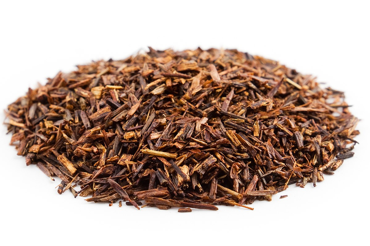 Rooibos post processing, ready to brew.