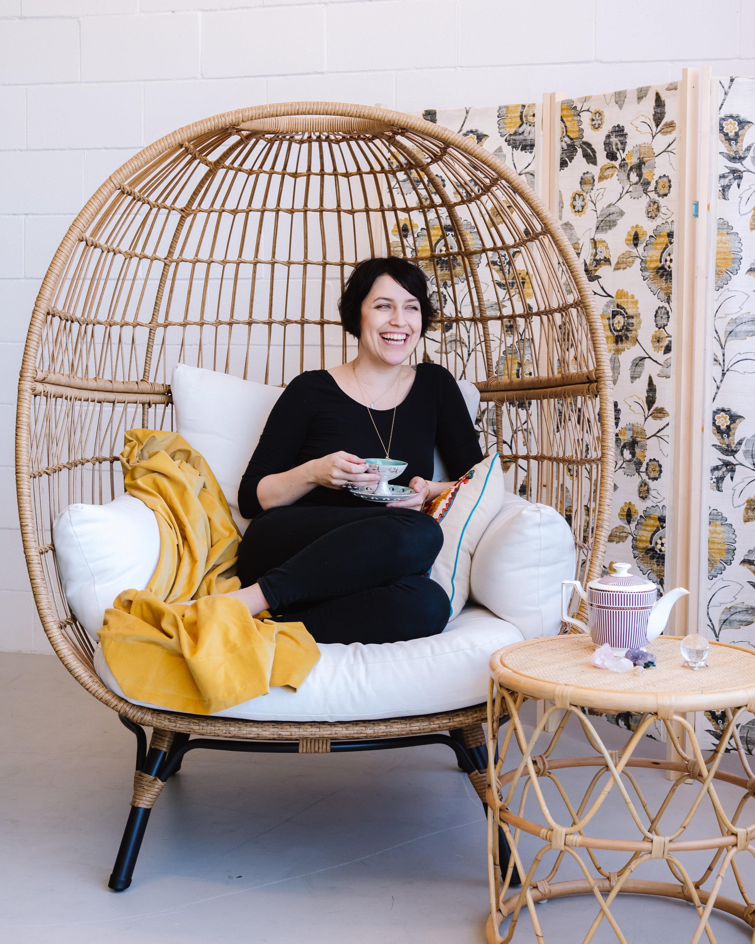 Jenni Curtice - Founder of Luna Tea Co.