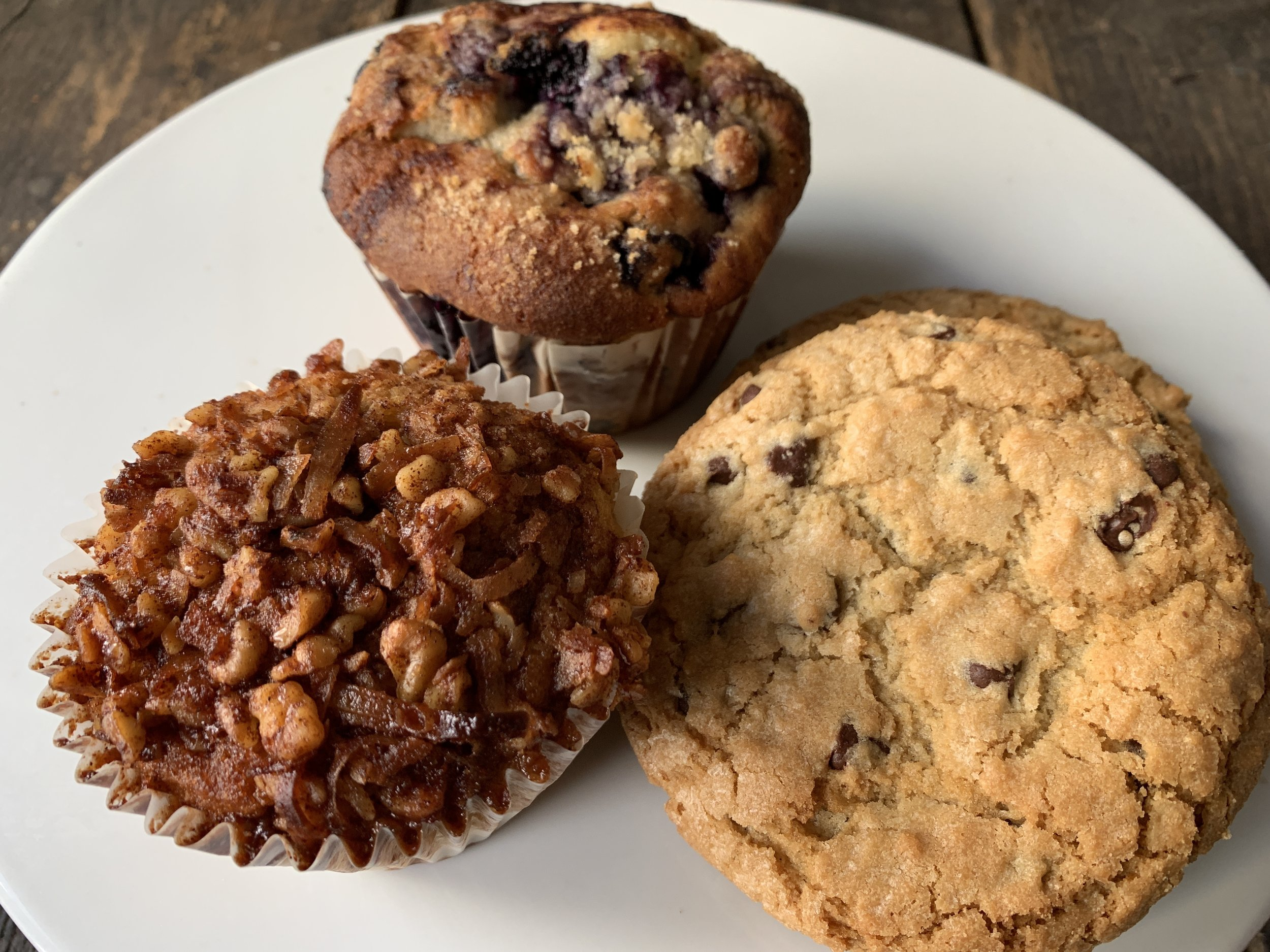 The best cookies and muffins around w/ the awards & accolades to prove it.