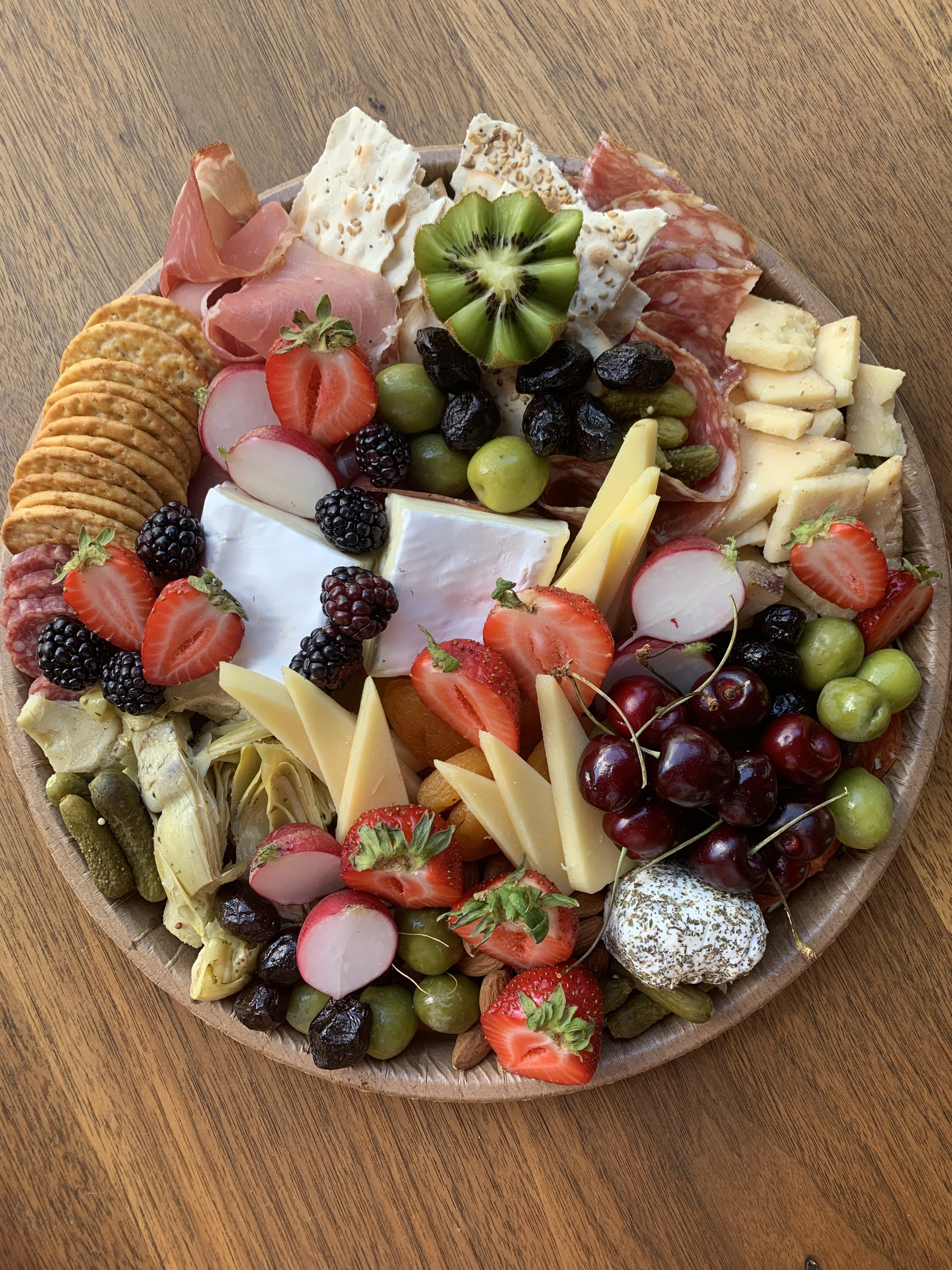 Platters available in size Small...