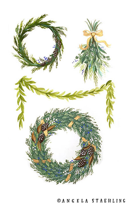 Holiday Wreaths
