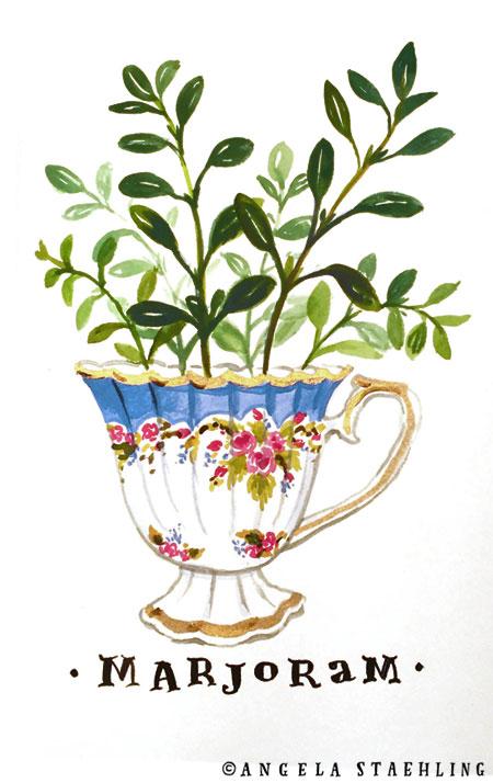 Marjoram Teacup