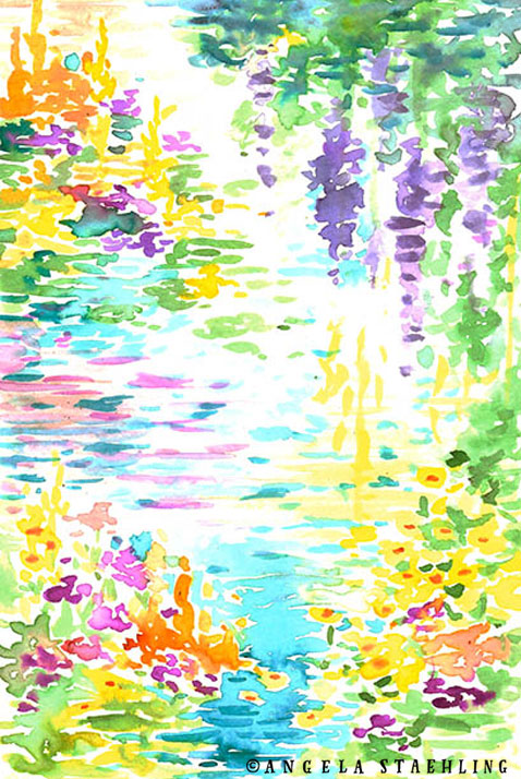 Floral Pond