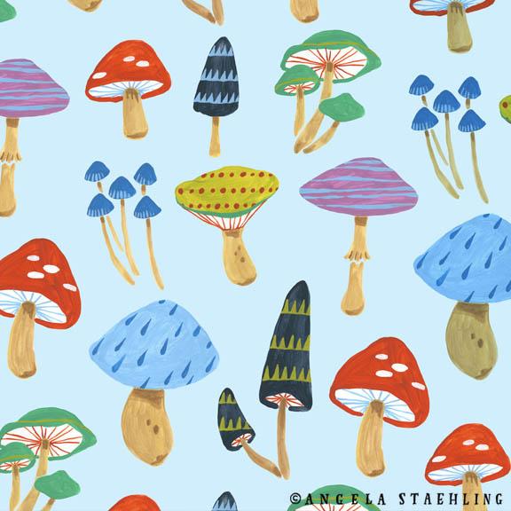 Geometric Mushroom