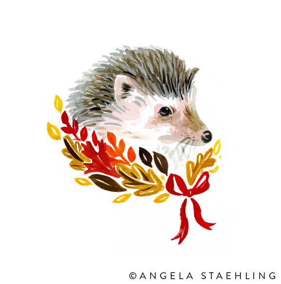 Harvest Hedgehog