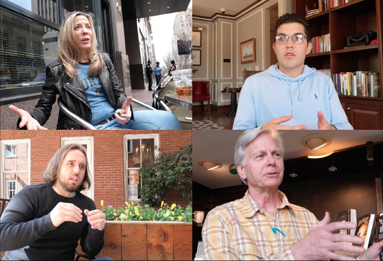 PEOPLE TALKING. NASHVILLE TENNESSEE, MONTGOMERY ALABAMA, OXFORD MISSISSIPPI