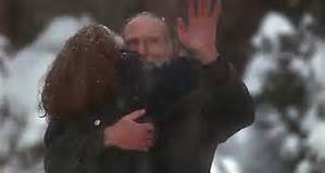 The reuniting scene on Home Alone, 1990