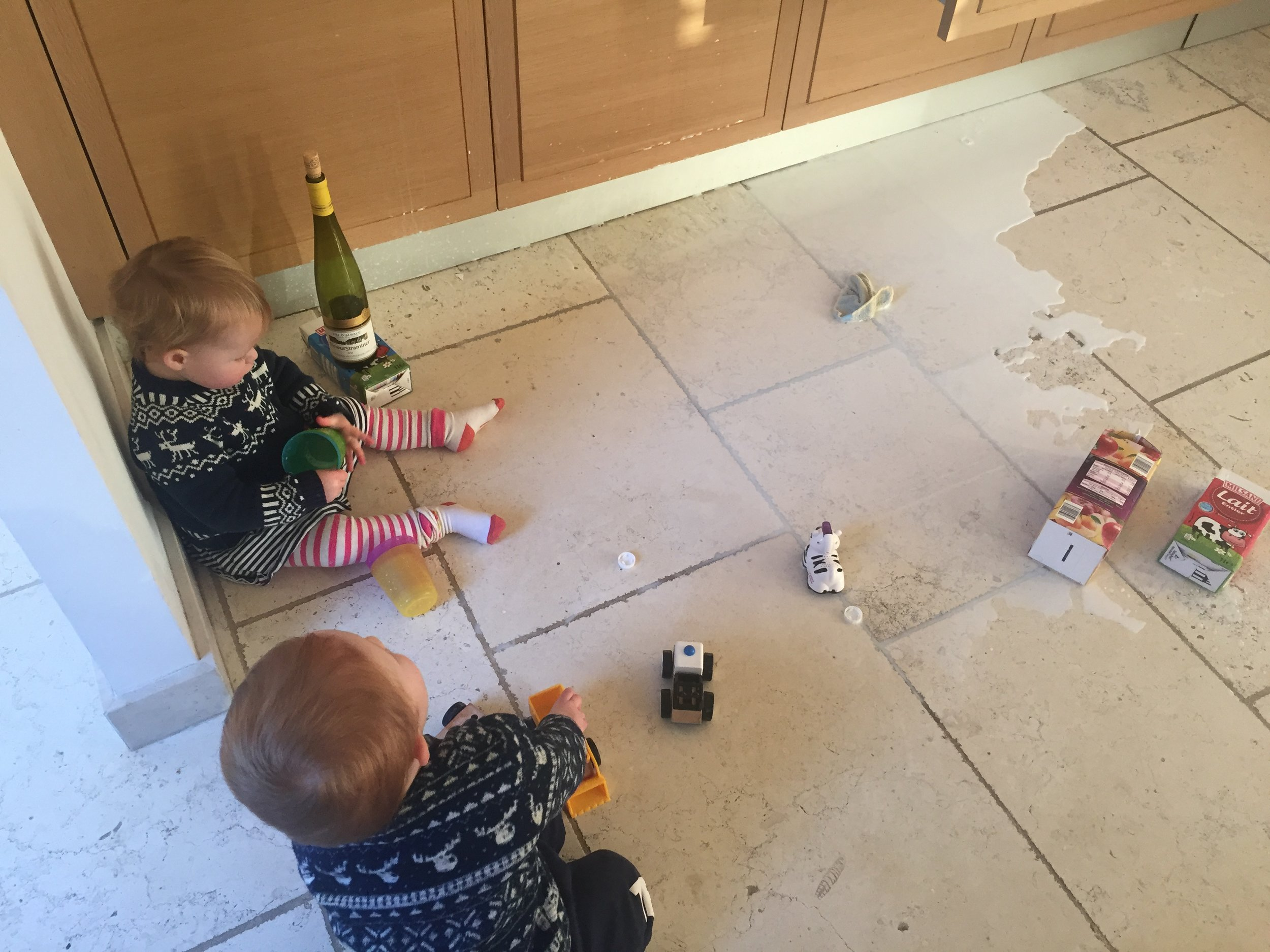Life with toddlers..🙈 Rarely pans out as planned!