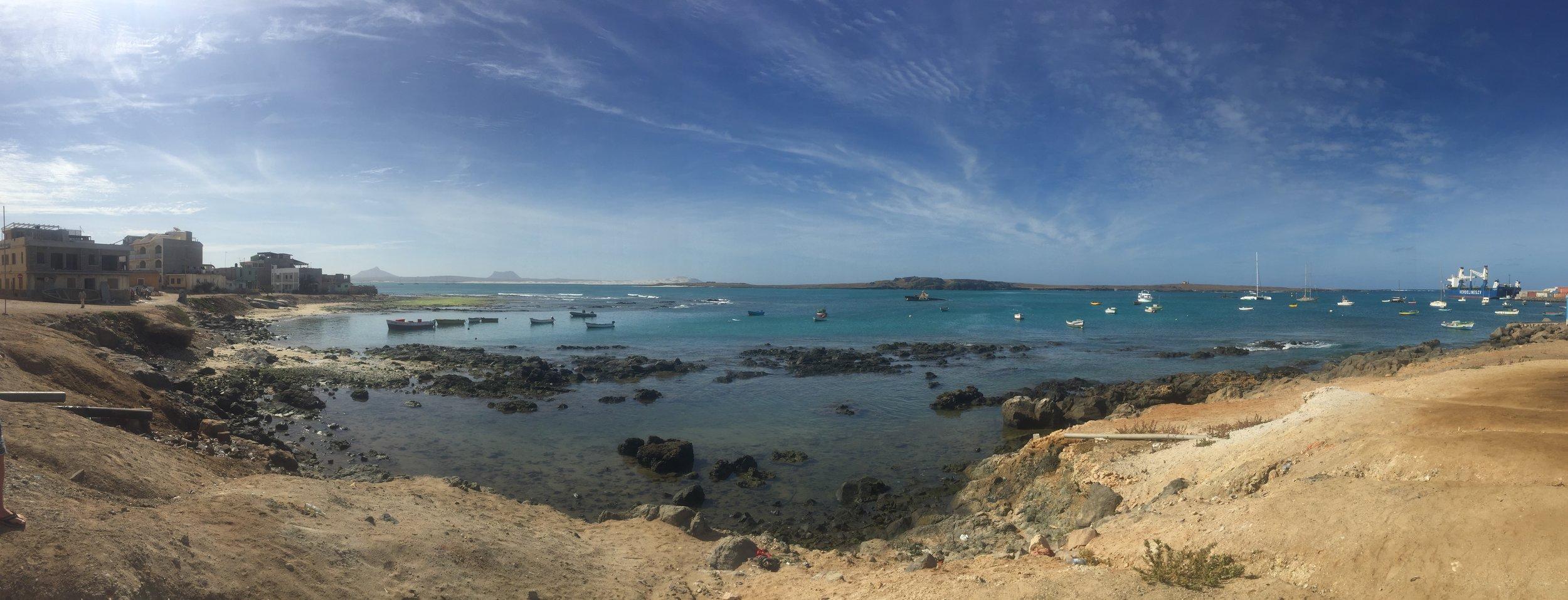 Sal Re (Boa Vista's Capital City),Harbour